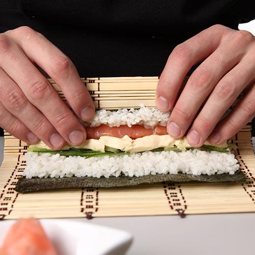 Curso de Temaki Sushi e Sashimi